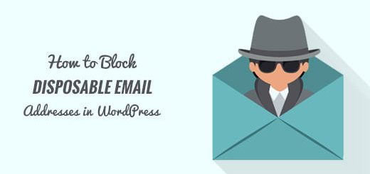 Chặn email spam, email rác trong wordpress đơn giản