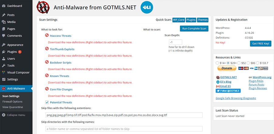Plugin quét virus, malware website wordpress hàng đầu thế giới