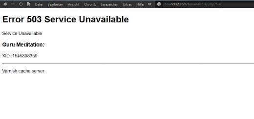 Lỗi wordpress: 503 Service Unavailable, khắc phục nhanh chóng