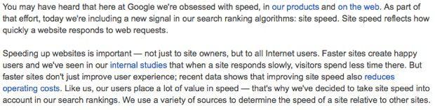 Tốc độ tải trang ảnh hưởng như thế nào tới SEO