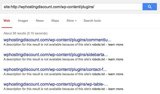 Hiển thị tên Plugin wordpress của website khác