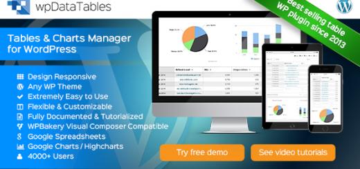 Làm bảng dữ liệu và biểu đồ với plugin WPDataTables wordpress