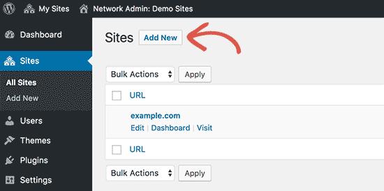 Hướng dẫn Multisite Network wordpress: chạy nhiều website chung 1 cài đặt