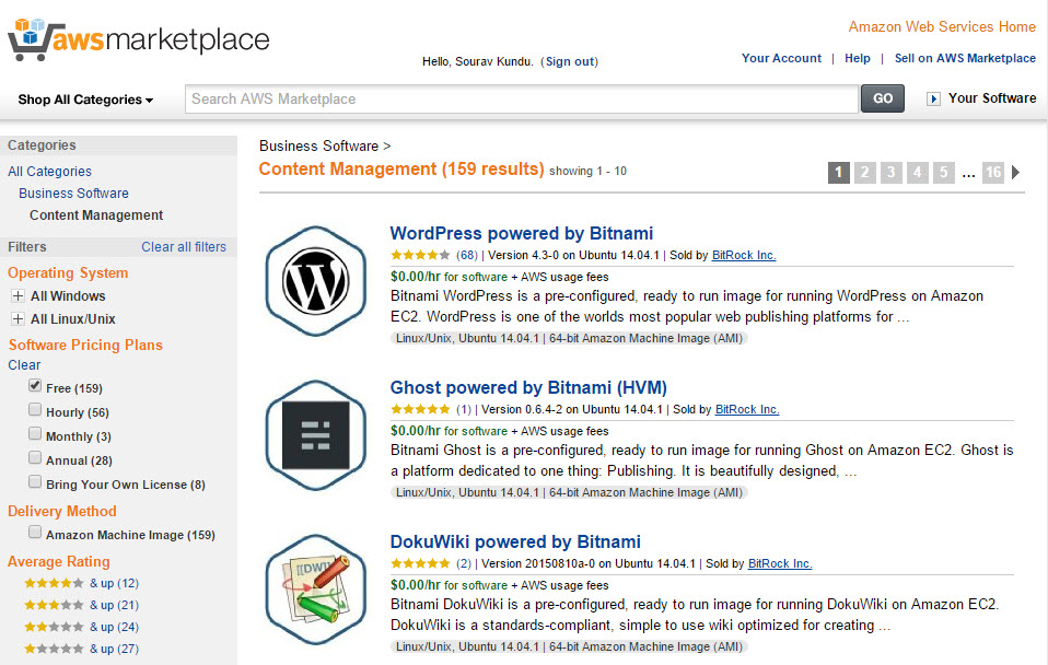 Cách cài website wordpress trên Amazon Web Services