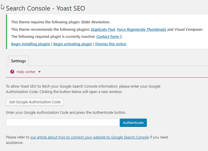 Cách thêm website vào Google Webmaster Tool