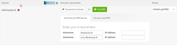 Top 6 dịch vụ cung cấp tên miền miễn phí, hosting miễn phí