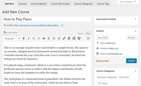 Tạo website khóa học bằng Plugin LMS LearnDash wordpress