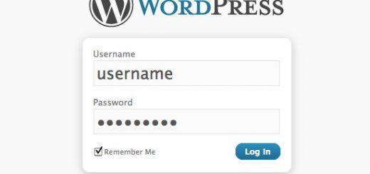 Xóa rung khi đăng nhập sai trên wordpress