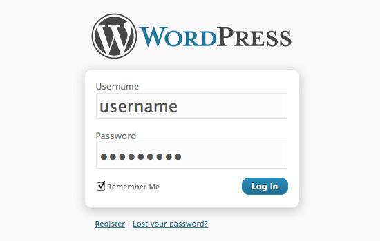Xóa cảnh báo rung khi đăng nhập sai trên wordpress
