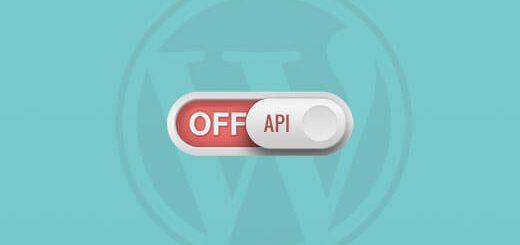 Cách tắt tính năng JSON REST API WordPress