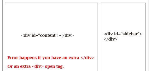Lỗi wordpress: hiển thị nội dung không đúng vị trí