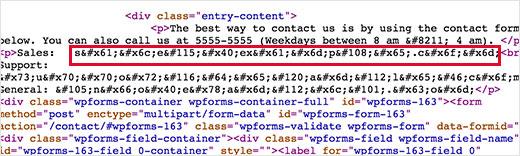 Chặn email rác, email spam wordpress đơn giản với Email Encoder