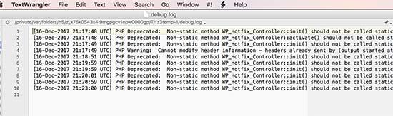 Cấu hình Wordpress Error Log trong WP-Config.php đơn giản