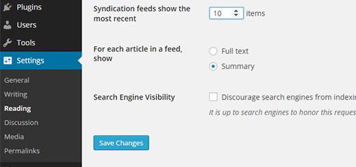 Tạo RSS Feed chuẩn seo wordpress