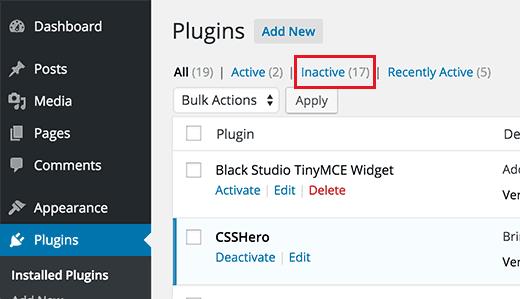 Cách xóa plugin wordpress sạch sẽ, an toàn