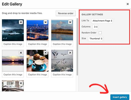 Cách chỉnh sửa hình ảnh trực tiếp trên wordpress