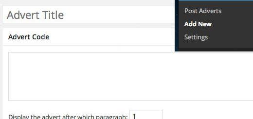 Cách tạo quảng cáo ở giữa bài viết wordpress không cần plugin