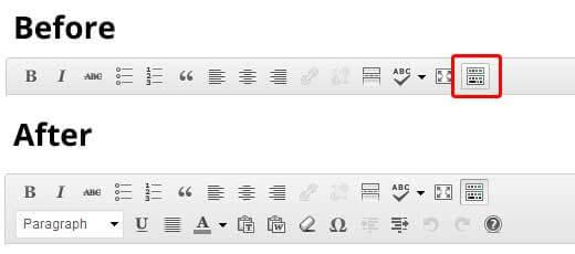 Lỗi wordpress: chữ trắng và khung soạn thảo