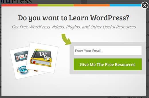 Tạo biểu mẫu thu thập email chuyên nghiệp wordpress