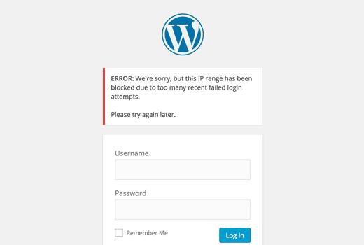 Hạn chế số lần đăng nhập không thành công wordpress đơn giản