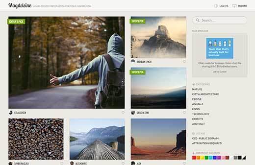 Top 10 trang chia sẻ hình nền đẹp wordpress