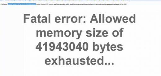 Lỗi wordPress: Memory Exhausted Error và cách khắc phục