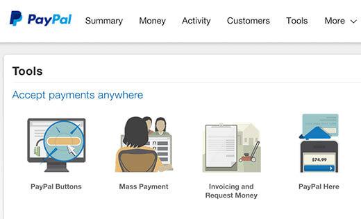 Tích hợp PayPal Donate vào website WordPress