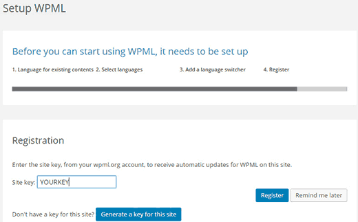 Cách tạo Website với plugin WPML wordpress