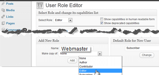 Hướng dẫn phân quyền quản trị cho người dùng/users đầy đủ, chi tiết