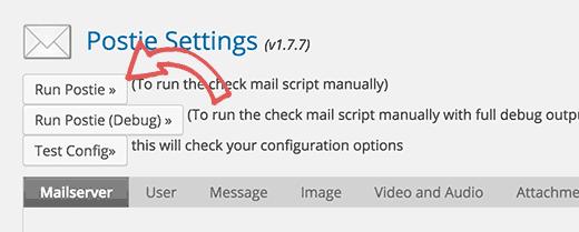 Cách đăng bài viết qua email đăng ký wordpress