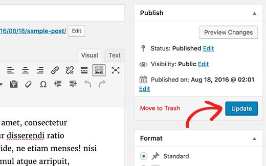 Cách thay đổi tác giả cho bài viết wordpress đơn giản