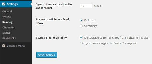 Chặn công cụ tìm kiếm quét website