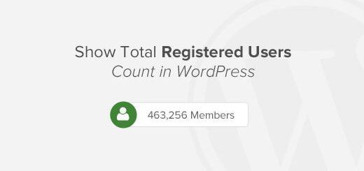 Hiển thị số thành viên trên website wordpress