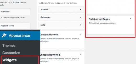 Có nên sử dụng Sidebar wordpress