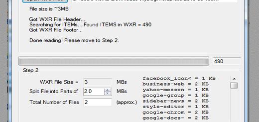 Chia nhỏ file xuất dữ liệu XML Wordpress