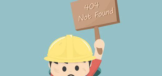 Bị lỗi 404 wordpress, nguyên nhân và cách sửa