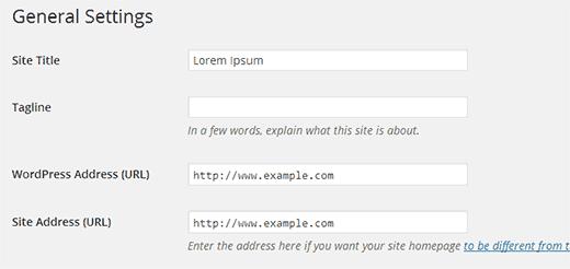 Lỗi chuyển hướng liên tục trong wordpress