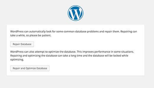 Các lỗi kết nối database thường gặp wordpress