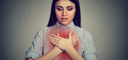Bị khó thở sau khi ăn, cổ họng như bị chặn lại