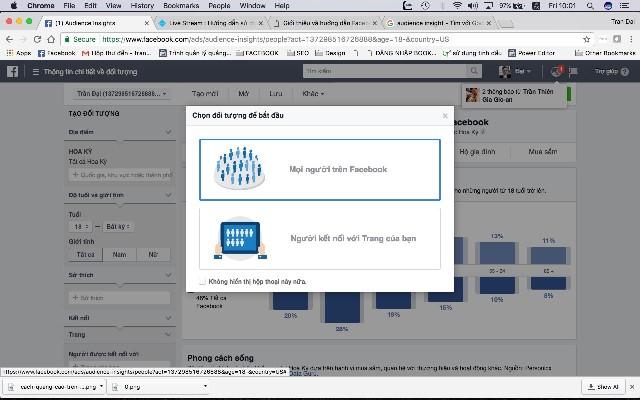 Cách target Facebook bằng Audience Insights hiệu quả nhất năm