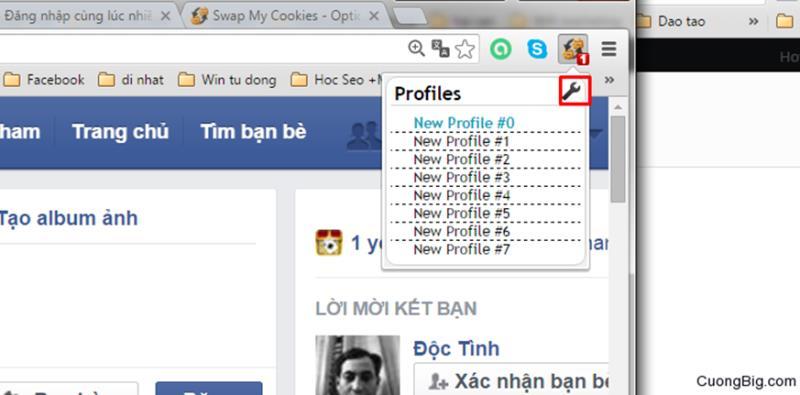 Cách đăng nhập nhiều tài khoản Facebook trên 1 máy an toàn