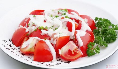 Thực đơn giảm cân với cà chua tại nhà