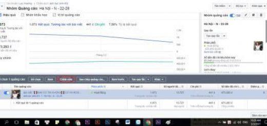 Cách sửa nhanh nội dung bài quảng cáo Facebook đang chạy