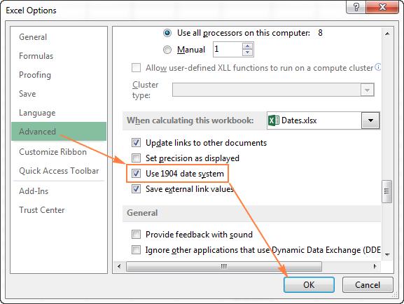 Hướng dẫn định dạng ngày, giờ trong Excel nâng cao