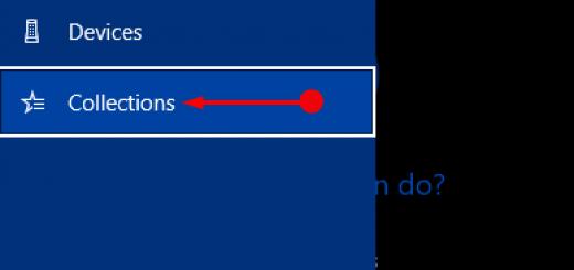 5 bước tạo Collections trong Cortana Win 10
