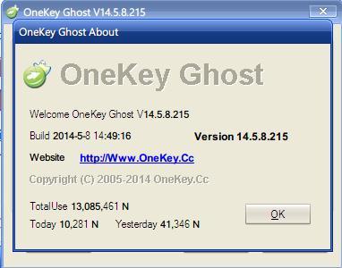 Hướng dẫn sử dụng Onekey Ghost v13.9