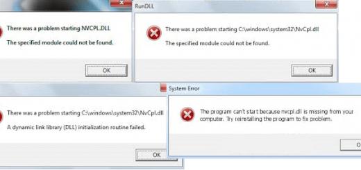 [Fixed 100%] Lỗi Nvcpl.dll trên Win 10