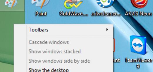 Thanh Taskbar bị di chuyển sang vị trí khác trên máy tính