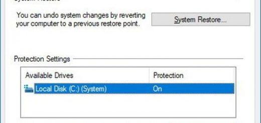 Hướng dẫn  System Restore trên Win 10