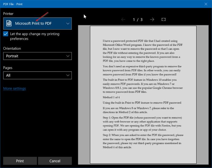 Hướng dẫn xóa mật khẩu file PDF cực nhanh